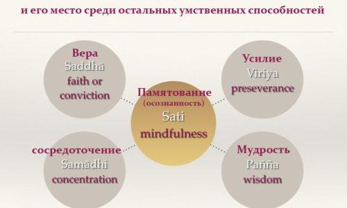 Развитие пяти умственных способностей — Саядо У Джанакабхивамса