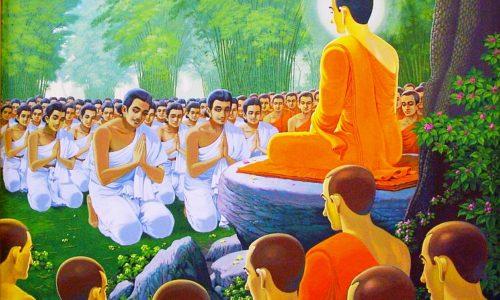 Обращение в религию —  Шравасти Дхаммика