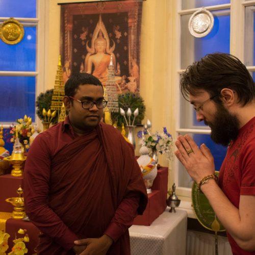 Благословение для сайта «МИР Тхеравады» от Васкадуве Сири Сарана Тхеро