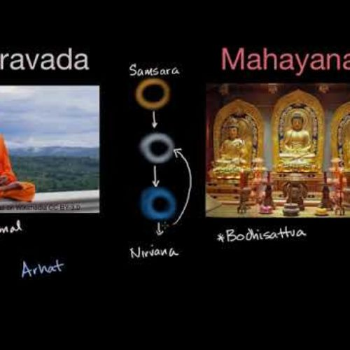 Тхеравада  и  Махаяна  —  Кхеманандо Бхиккху